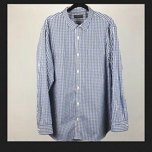 * Banana Republic Check Plaid Button Down Shirt